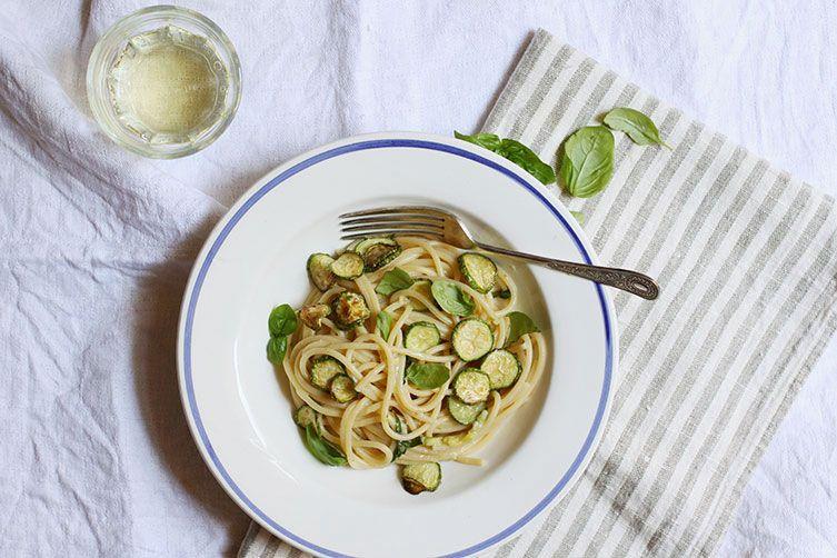 Spaghetti alla Nerano (Spaghetti with Zucchini)