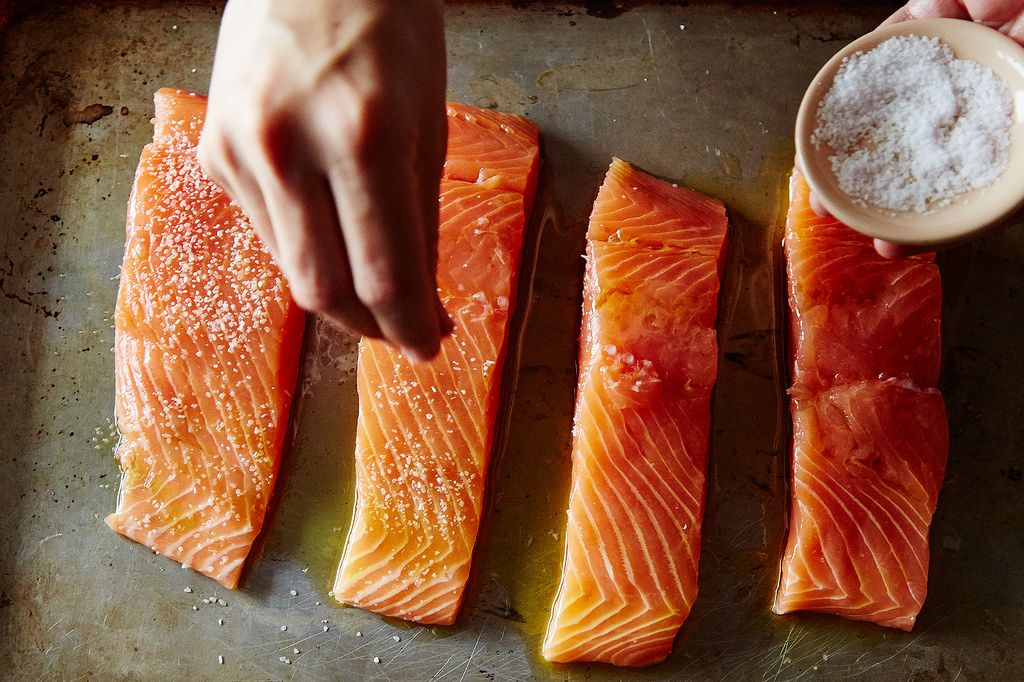How to never overcook salmon or other fish genius recipes schneider learned about the technique for salmon close to 20 years ago she wrote to me so i asked what if i applied it to other fish and tested them ccuart Gallery