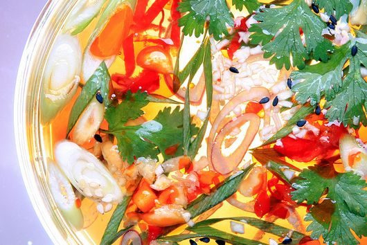 Spring Onion and Chili Pepper Sauce