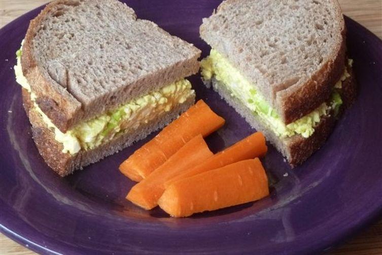 """Tofu """"Egg"""" Salad Recipe on Food52"""