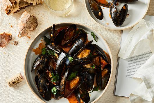 Pizza Mussels for One