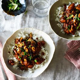 Stir Fried Chicken w/ Chilis by Marivic Restivo