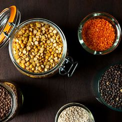 Sweet-Hot Chana Dal with Golden Raisins