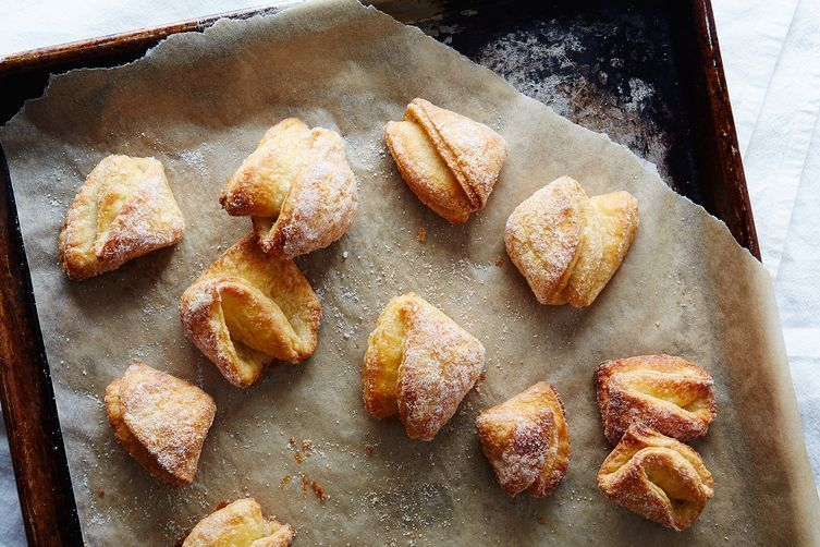 If your pans are too dark, parchment paper can help.