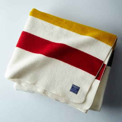 Revival Stripe Queen Blanket