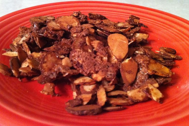 Cinnamon-Cocoa Baked Almonds