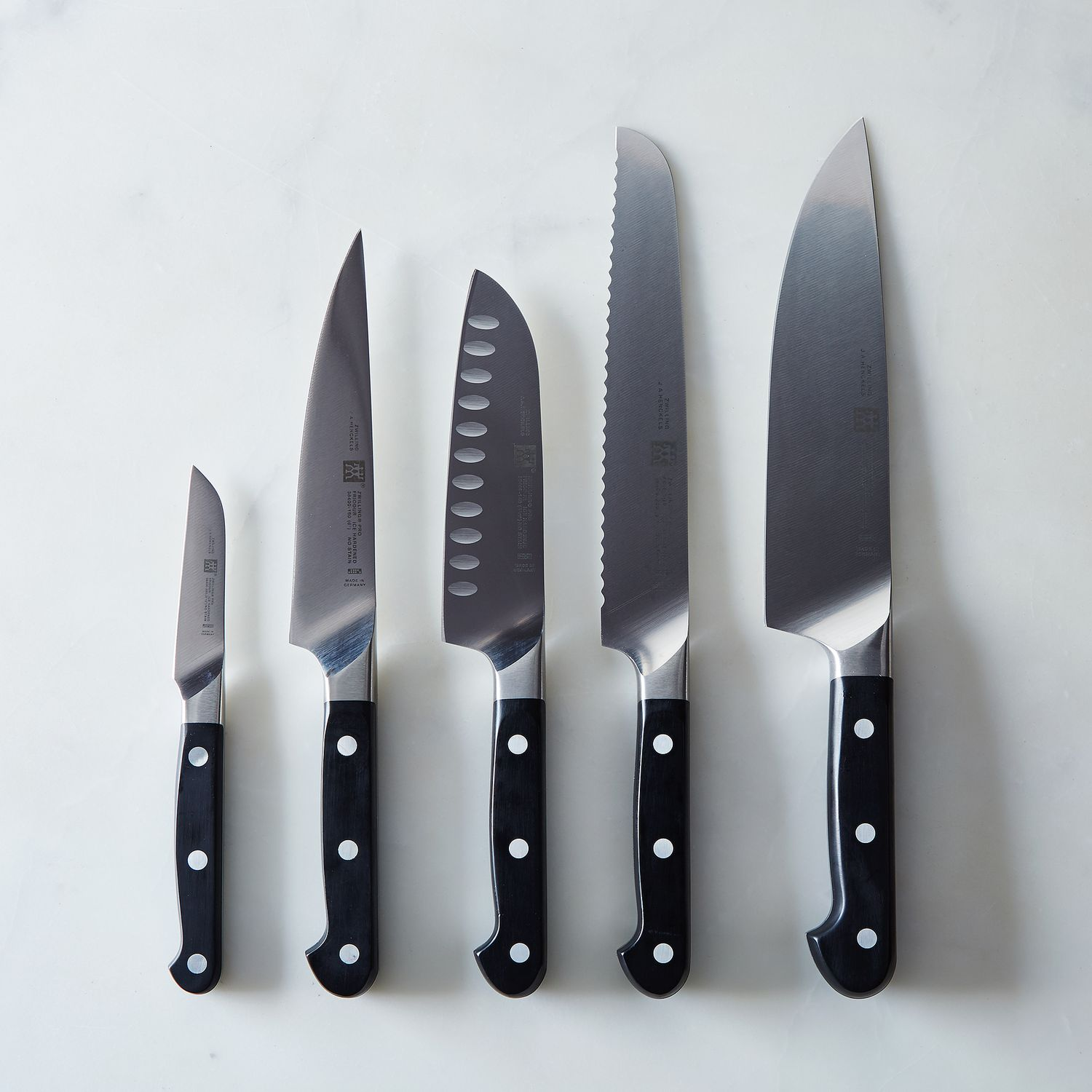 Zwilling J A Henckels Pro Knife Set Knife Set