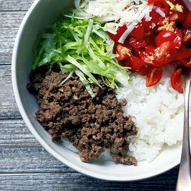 Okinawan Taco Rice Bowls