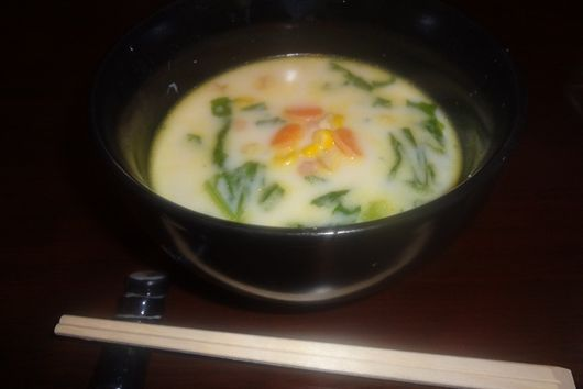 Turnip Milk Miso Soup