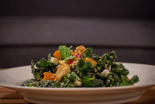 Miso Masala Kabocha & Cauliflower Quinoa Salad