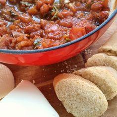 Rustic Roasted Tomato Spoon Spread