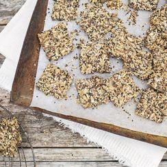 Green Kitchen Stories' Orange-Kissed Seed Crackers