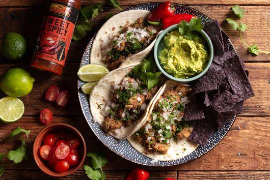 Spicy Chicken Lee Kum Kee Tacos