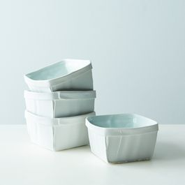 Porcelain Fruit Baskets (Set of 4)