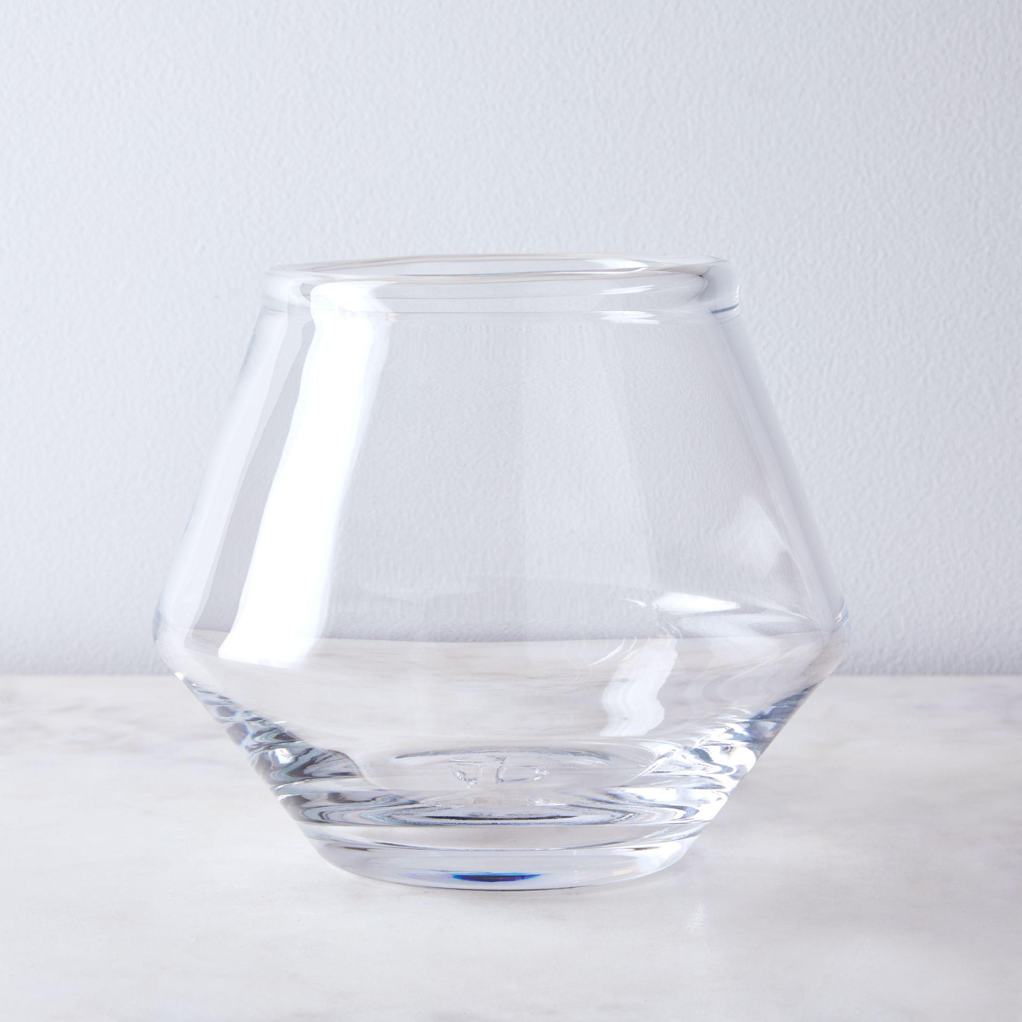 Handblown Bristol Ice Bucket