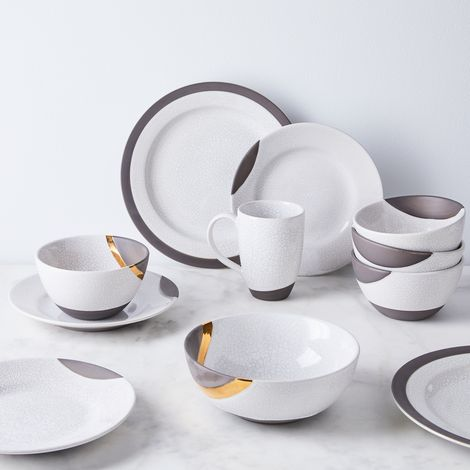 Raku-Inspired Dinnerware