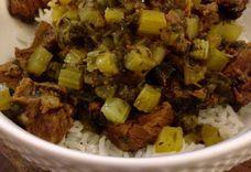 Khoresht Karafs—Persian Beef and Celery Stew