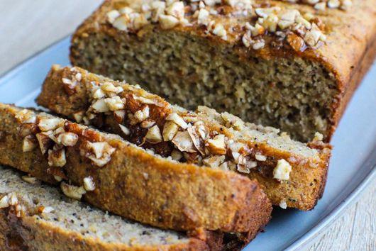 Almond Poppy Seed Banana Bread