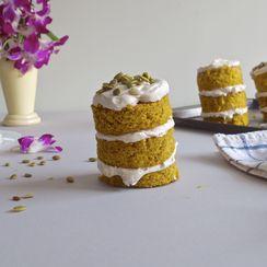 Pumpkin Buttermilk Mini Cakes