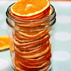 Dehydrated Super-Charged Orange Slices