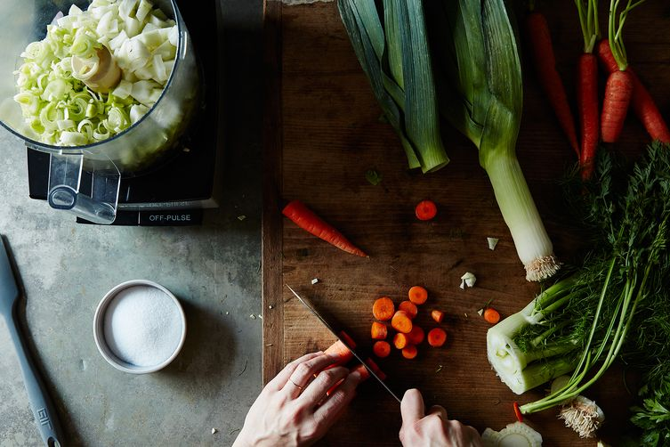 The River Cottage's Vegetable Bouillon (a.k.a. Souper Mix)