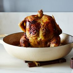 Beg, Borrow, and Steal Roast Chicken with Cilantro-Tamarind Sauce