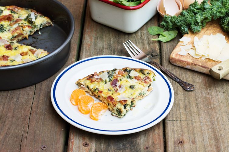 Bacon & Greens Frittata