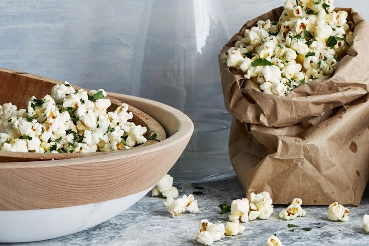 Danny Seo's Brown-Bag Popcorn
