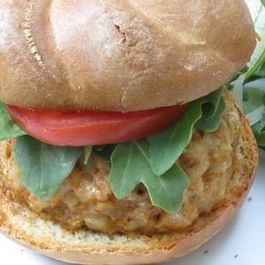 Shrimp and Chorizo Burgers