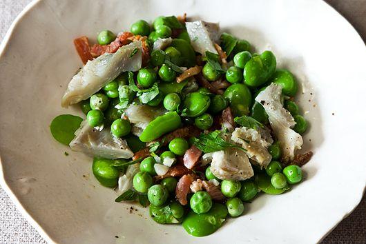 Artichoke Stew with Bonus Appetizer