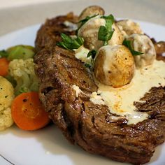 Oven Rib-eye Steak