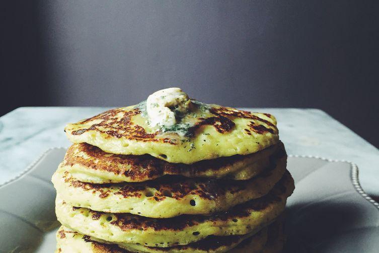 Parmesan & Sage Potato Pancakes