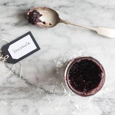 Sugarfree Grape Jam (Scrucchiata)
