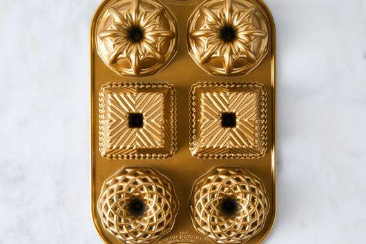 Nordic Ware Geometric Bundtlette Pan
