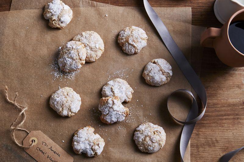 Delicate, almond-y bites.