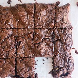 Red wine chocolate brownies (gluten free)