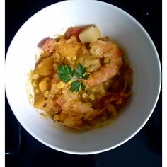 Shrimp, Butternut Squash and Corn Chowder