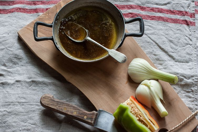 Bagna Cauda (Hot Garlic and Anchovy Sauce)