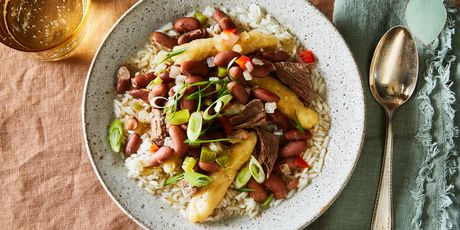 Why this professional chef makes her grandma's stew peas once a month.