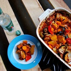 Ratatouille with a Greek twist