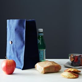 Waxed Canvas Lunch Bag
