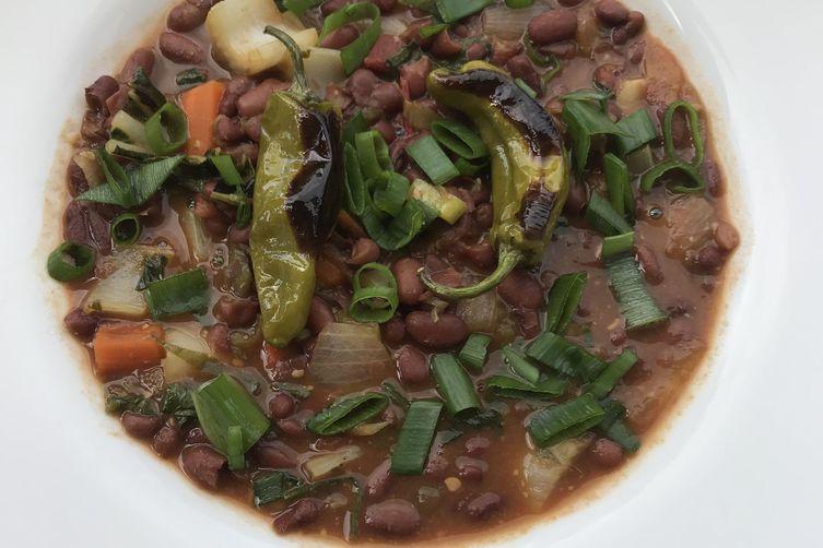 White Miso Red Bean Stew