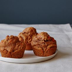 Whole Grain Sweet Potato Muffins