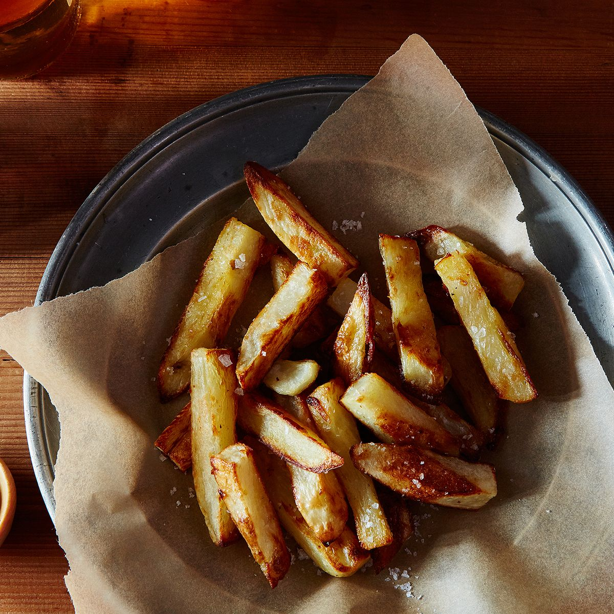 These Genius Fries Need Less Oil Than It Takes To Dress A Salad