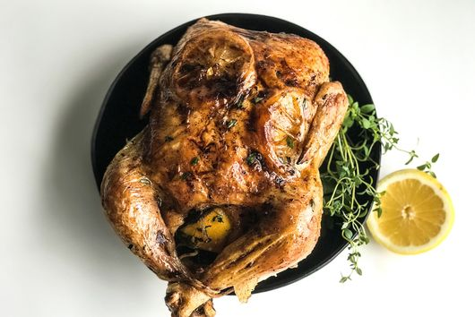 Lemon-Thyme Roasted Chicken