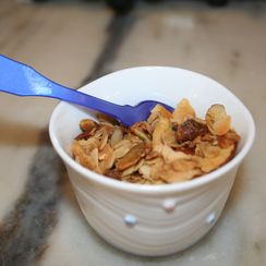 Coconut Cardamom Granola