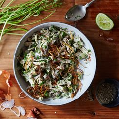 Burmese Salads: Lacking in Greens, Huge in Flavor