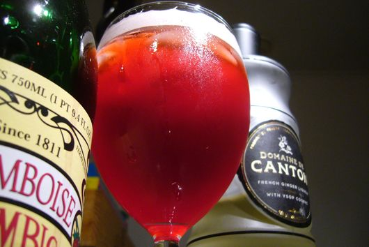 Raspberry-Ginger Lambic