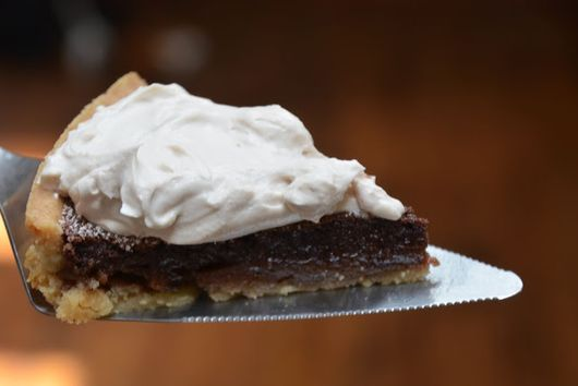 Mexican Chocolate Chess Tart