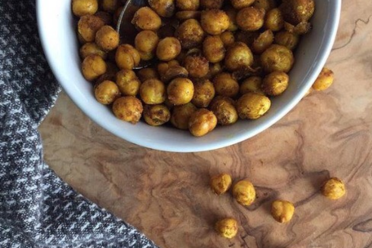 Roasted Spiced Chick Peas